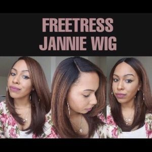 Freetreas Jannie Lace Front Wig
